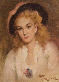 """""""An Elegant Lady with Hat"""""""