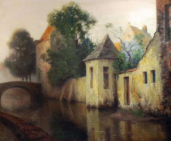 """SOLD """"Bruges Canal"""""""