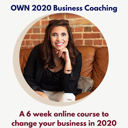 OWN 2020 Business Coaching- Business Basic