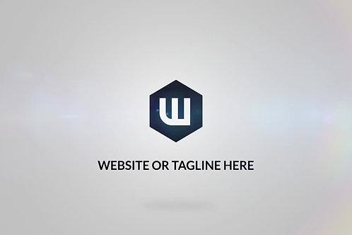 Slick Modern Animated Intro & Outro Logo Video