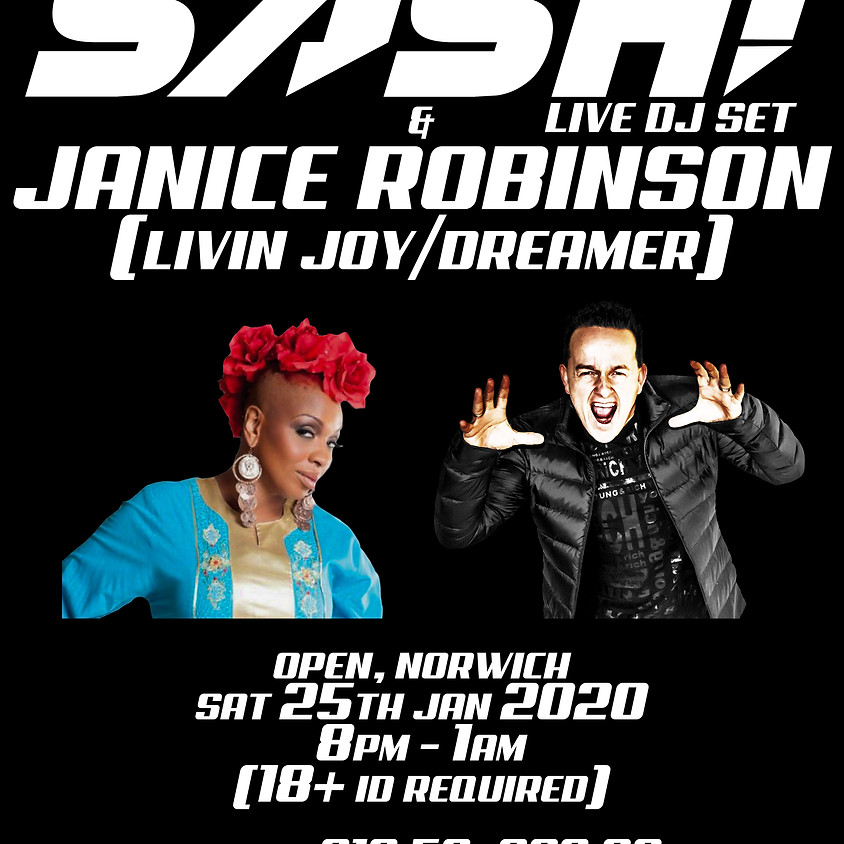 DJ SASH! & LIVIN JOY