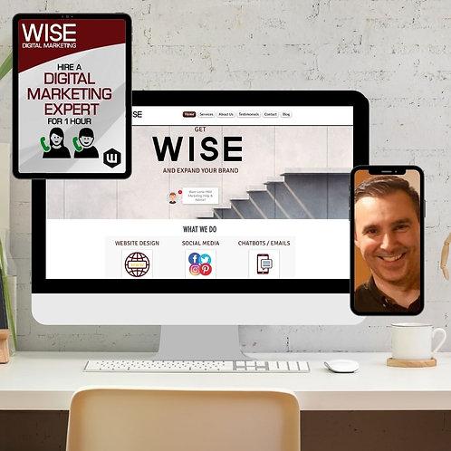 Hire A Digital Marketing Expert For 1 Hour