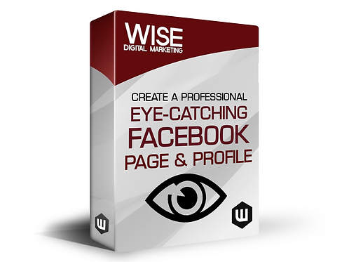 Professional EYE-CATCHING Facebook Business Page & Profile