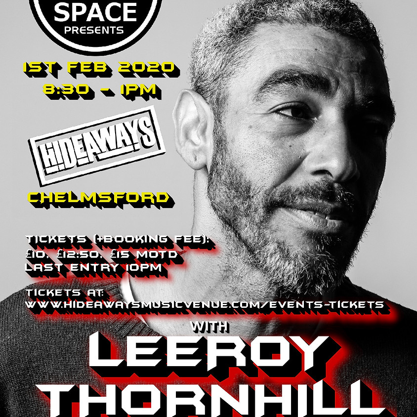 Dance Anthems with Leeroy Thornhill (Ex Prodigy)
