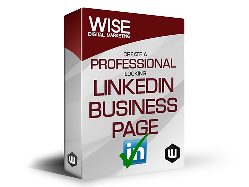 Professional Looking LinkedIn Business Page