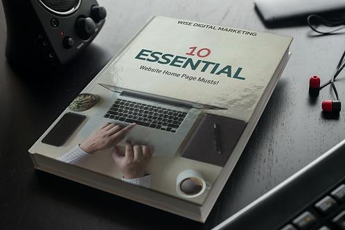 Digital eBook Or Flipbook With Cover