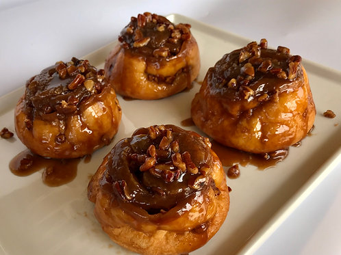 Sticky Buns (Pack of 4)