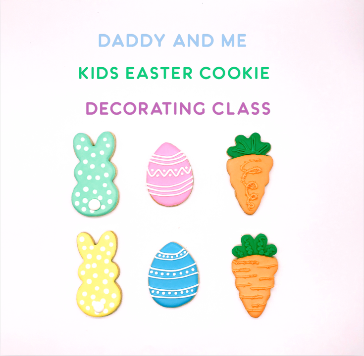 Daddy & Me Kids' Cookie Decorating Class