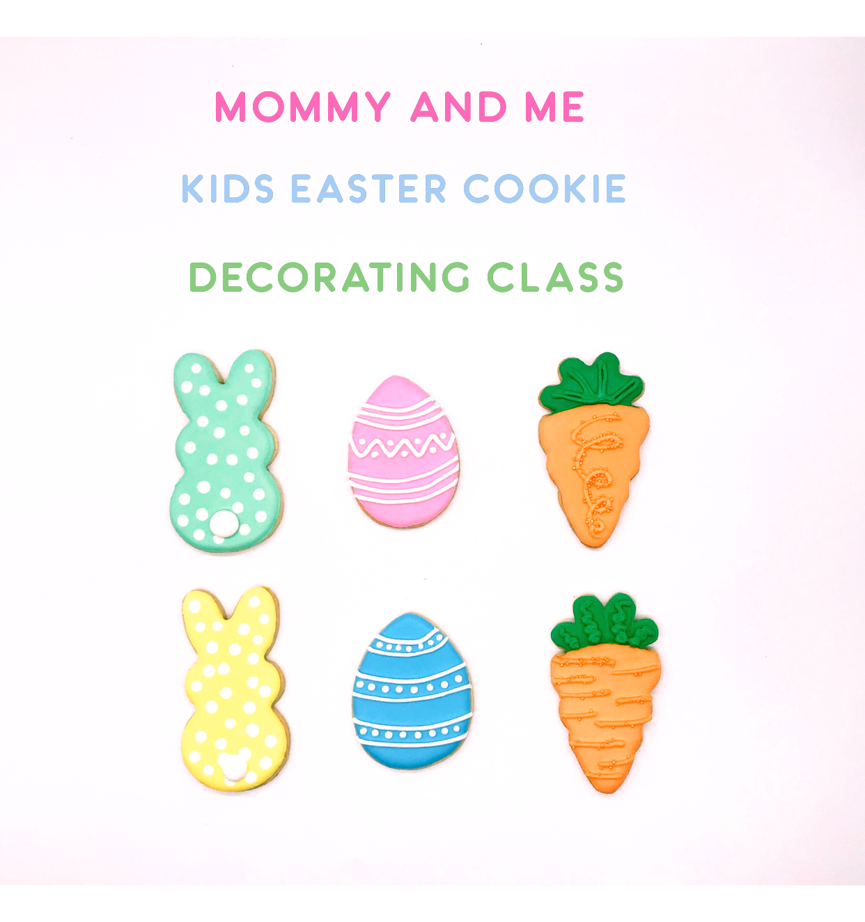 Mommy & Me Kids' Cookie Decorating Class