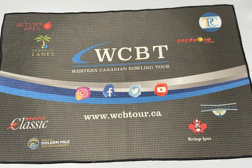 Black WCBT Towel