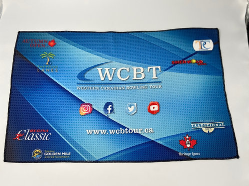 WCBT Blue Towel