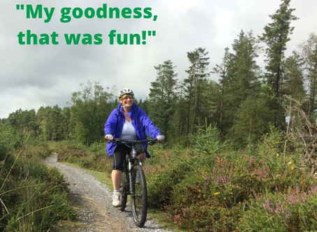 When did you last get on your bike?