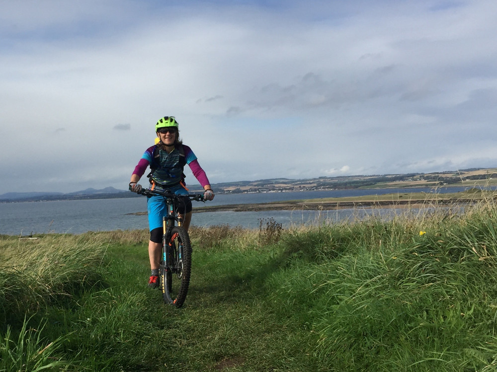 Mountain biking in Fife, Scotland