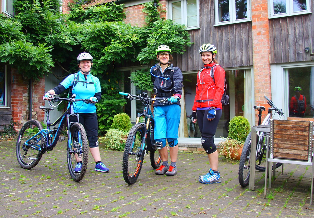 Women's mountain bike weekend Bike Guide Devon