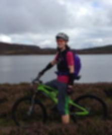 Cathy at Bike Guide Devon