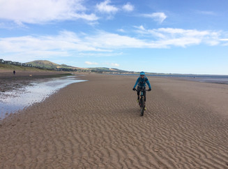 Riding the Fife Coast Path