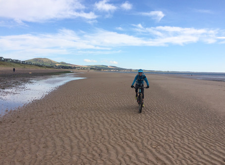 Riding the Fife Coast Path