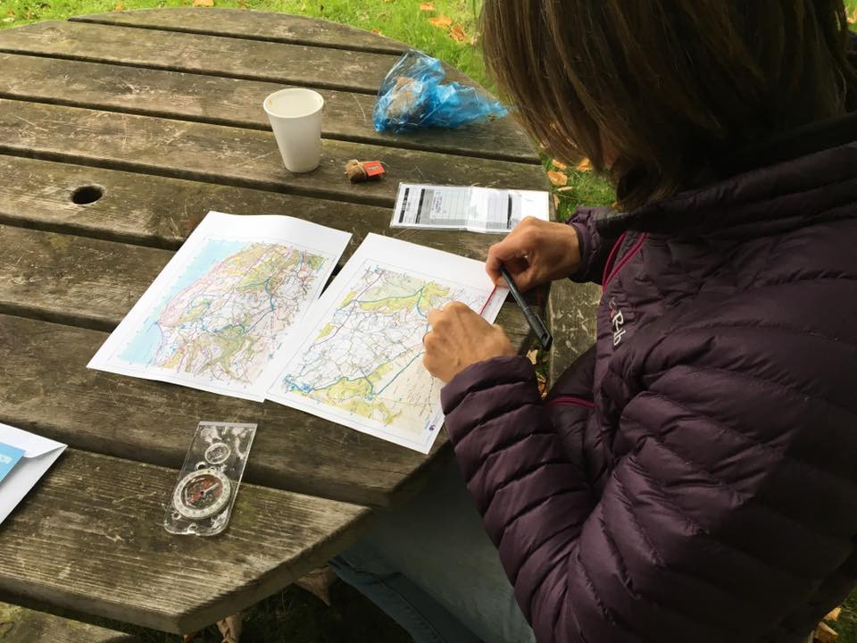 Mountain bike route planning