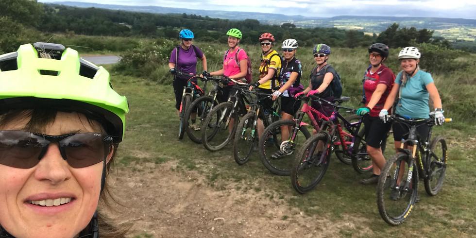 Women's mountain bike weekend