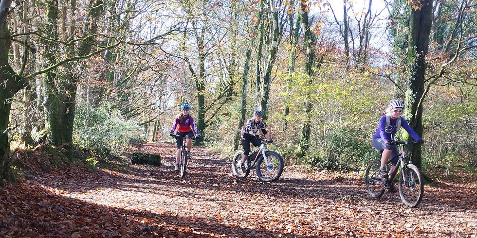 Evening mountain bike ride - women only - Novice