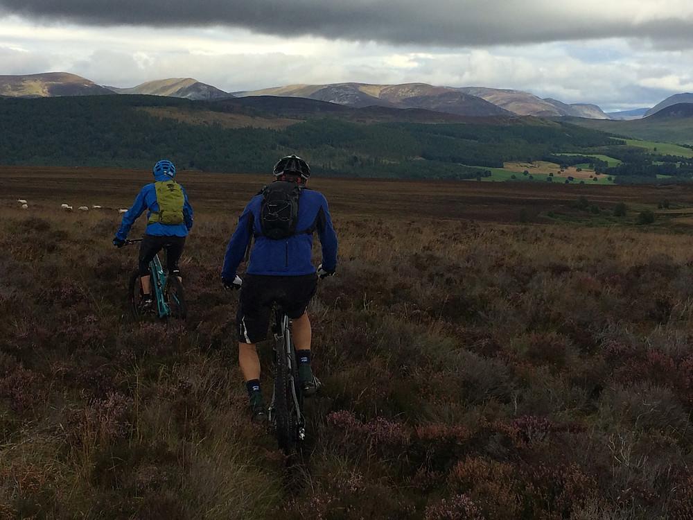 Ready for rain: mountain biking in Scotland