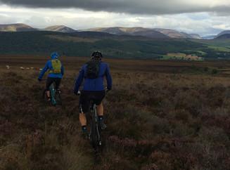 Can you mountain bike in the rain?