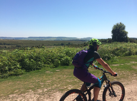 Join our mountain bike rides for women during Heath Week