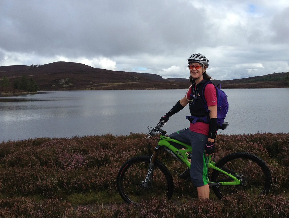 Dressed for a day riding in the Scottish hills