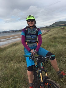 Cathy of Bike Guide Devon