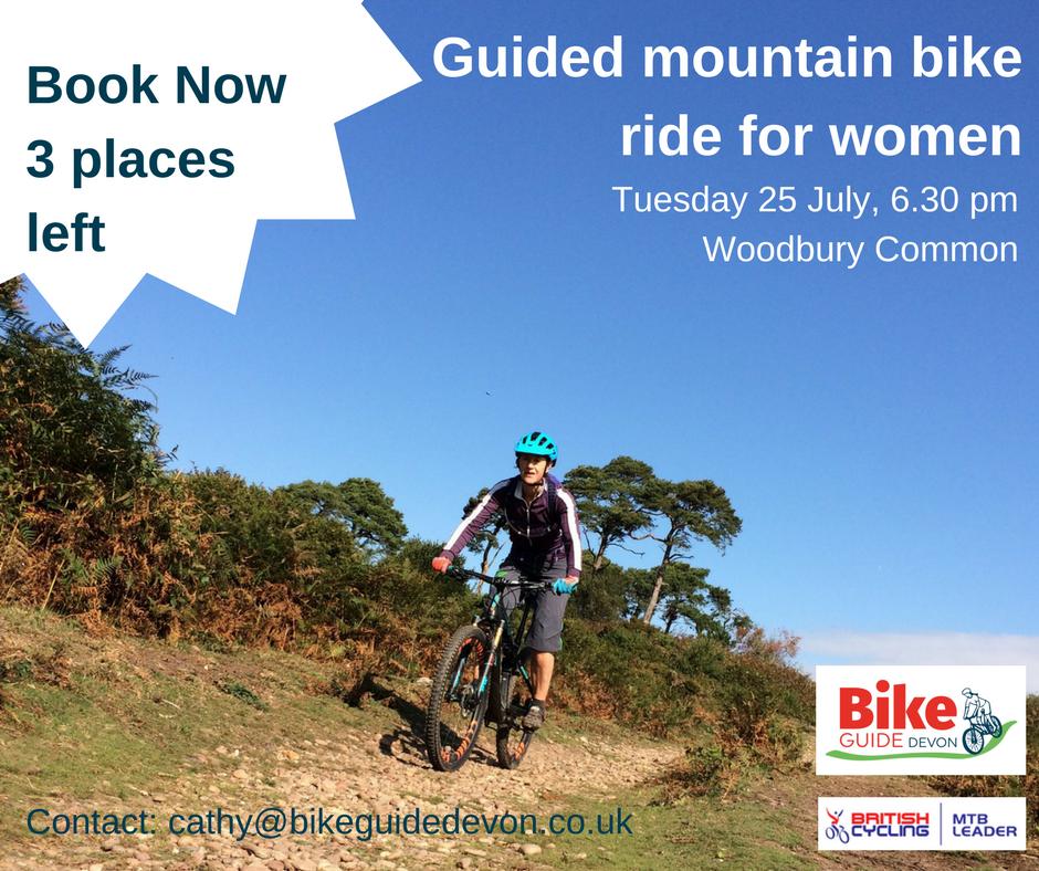 Mountain biking for women in Devon