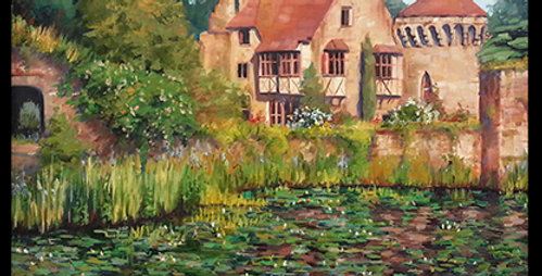 England water lilies