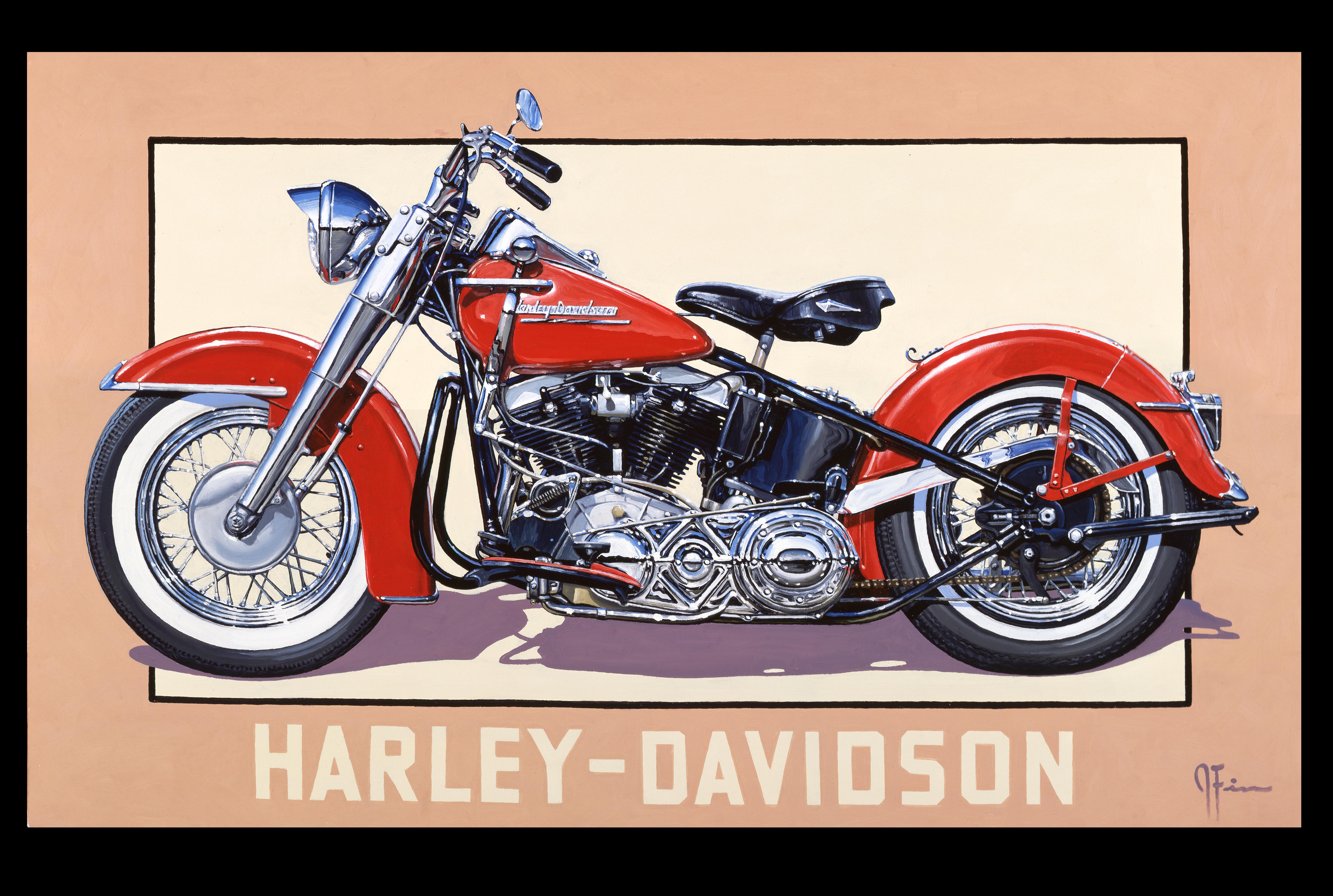 1951 panhead harley