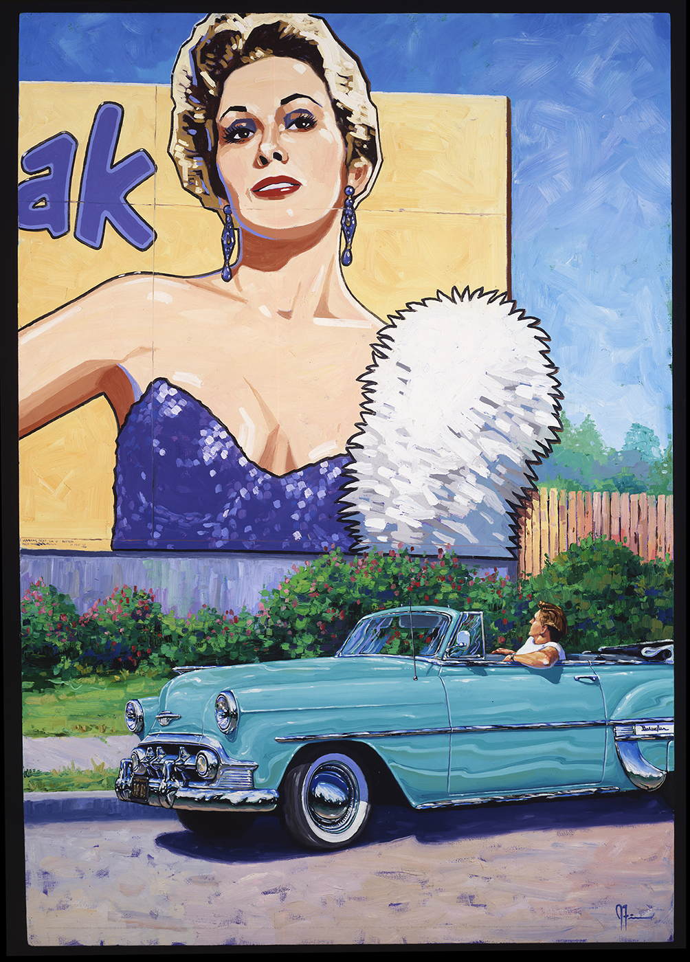 kim novak 1953 chevy