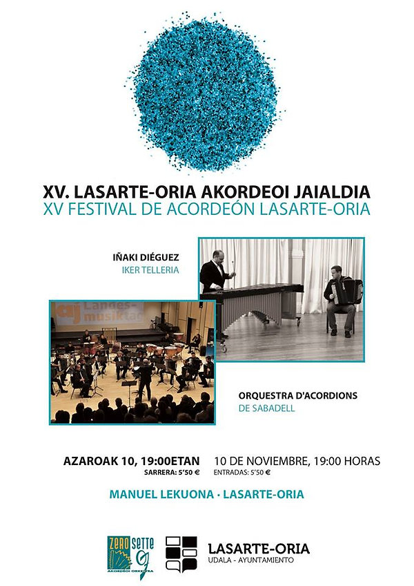 cartel_XV_festiva_acordeón_Lasarte-Orial