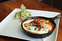 Baked Eggs Ranchero