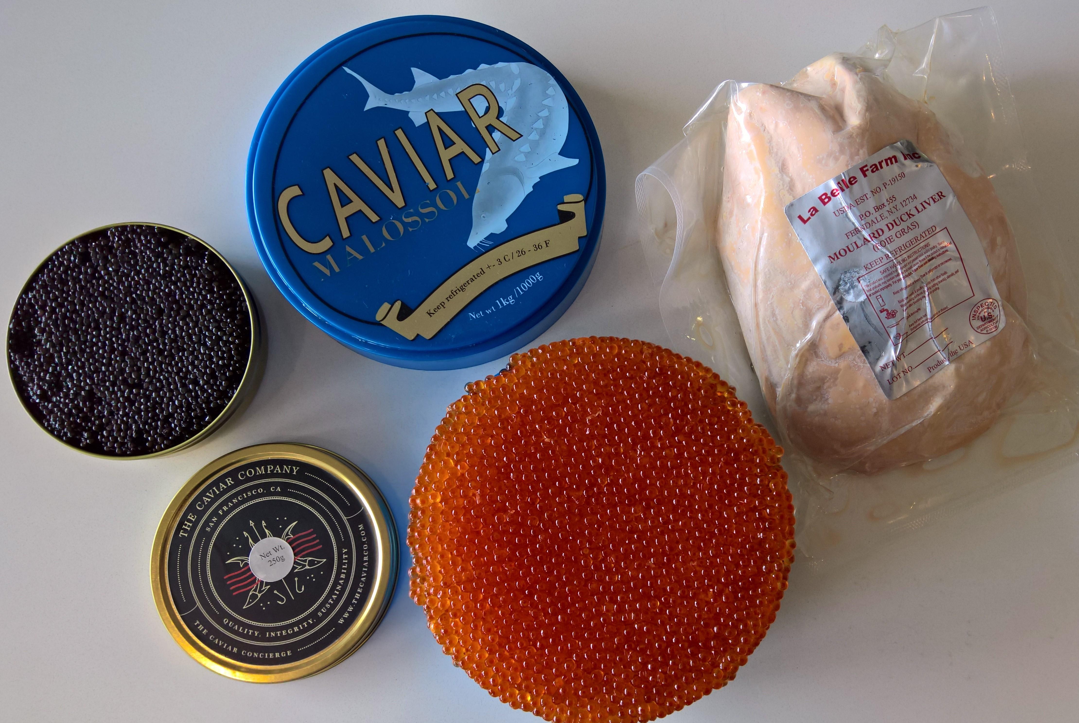 Caviar + Foie Gras