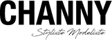 CHANNY Logo noir nom et styliste Chantel