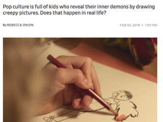 INTERVIEW: CREEPY KID'S DRAWINGS