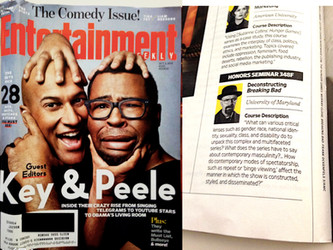 COURSE FEATURED IN ENTERTAINMENT WEEKLY!