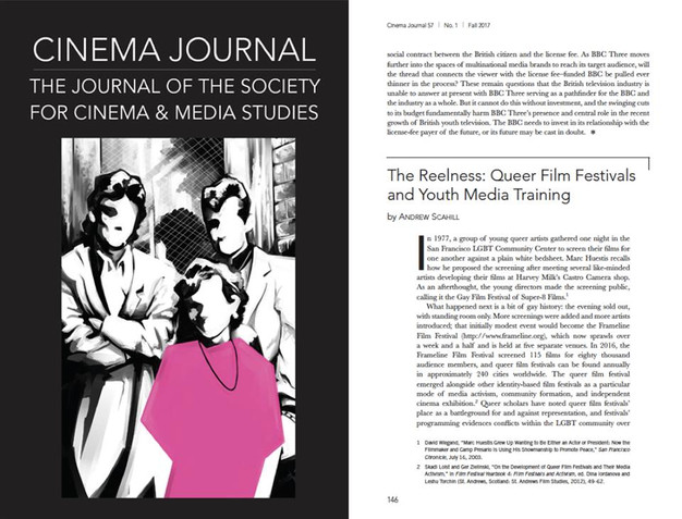 new essay in cinema journal andrew scahill assistant prof of  full text here muse jhu edu article 673000