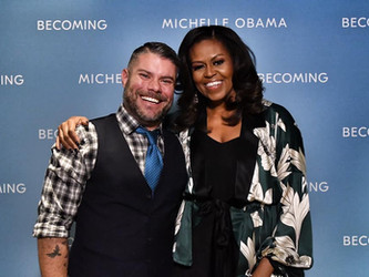 MEETING FIRST LADY MICHELLE OBAMA