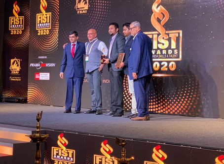 VAMS Global bags the Best Product of the year award at FIST