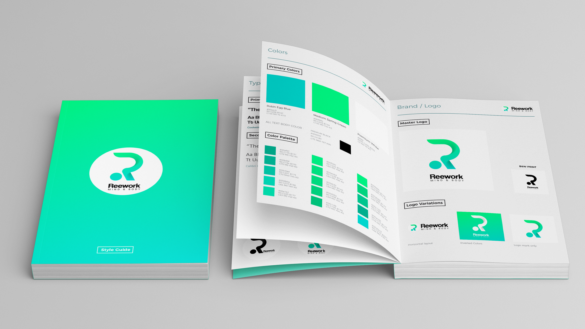 Softcover Book Mock-Up (Free) by MassDre