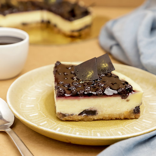 Baked Blueberry Cheesecake Pastry