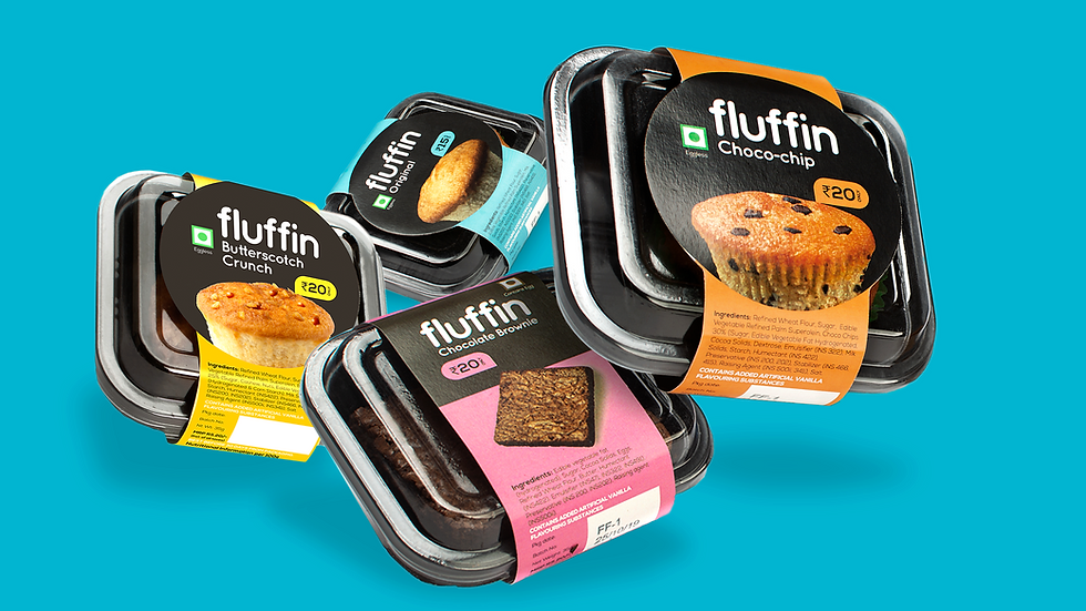 Fluffn branding Case study