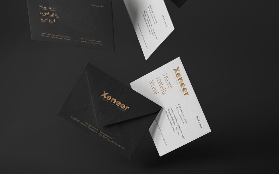 Luxury Invite for Xeneer