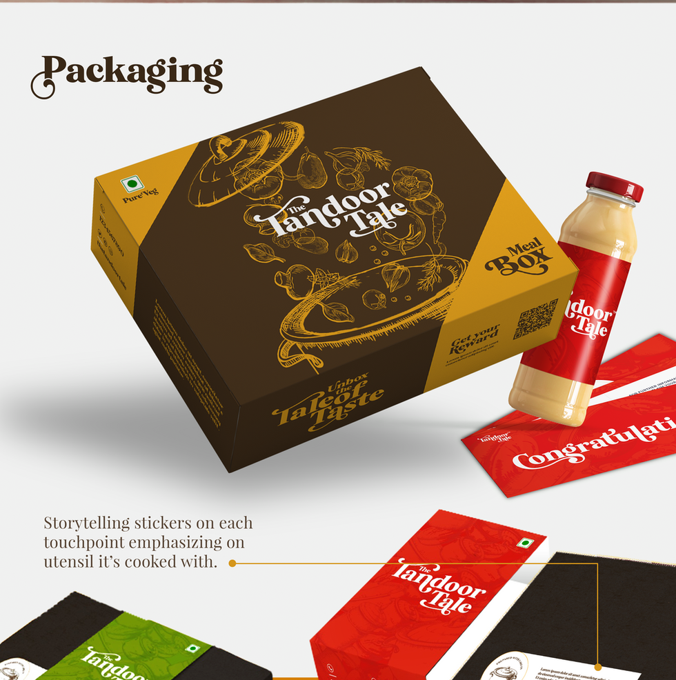 indian food packaging designing