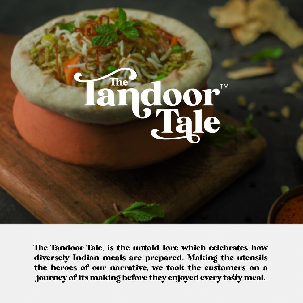 The tandoor tale branding