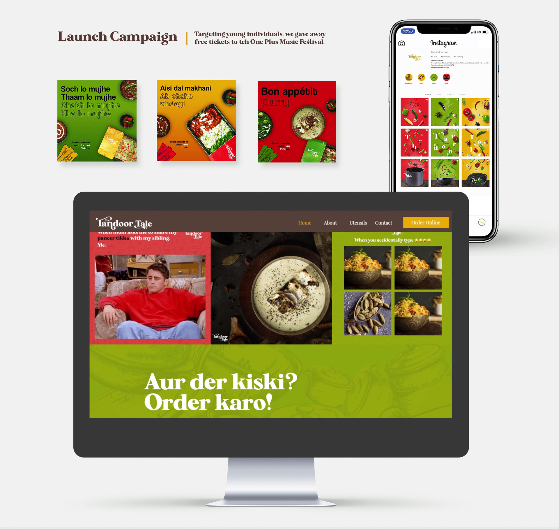 The tandoor tale website