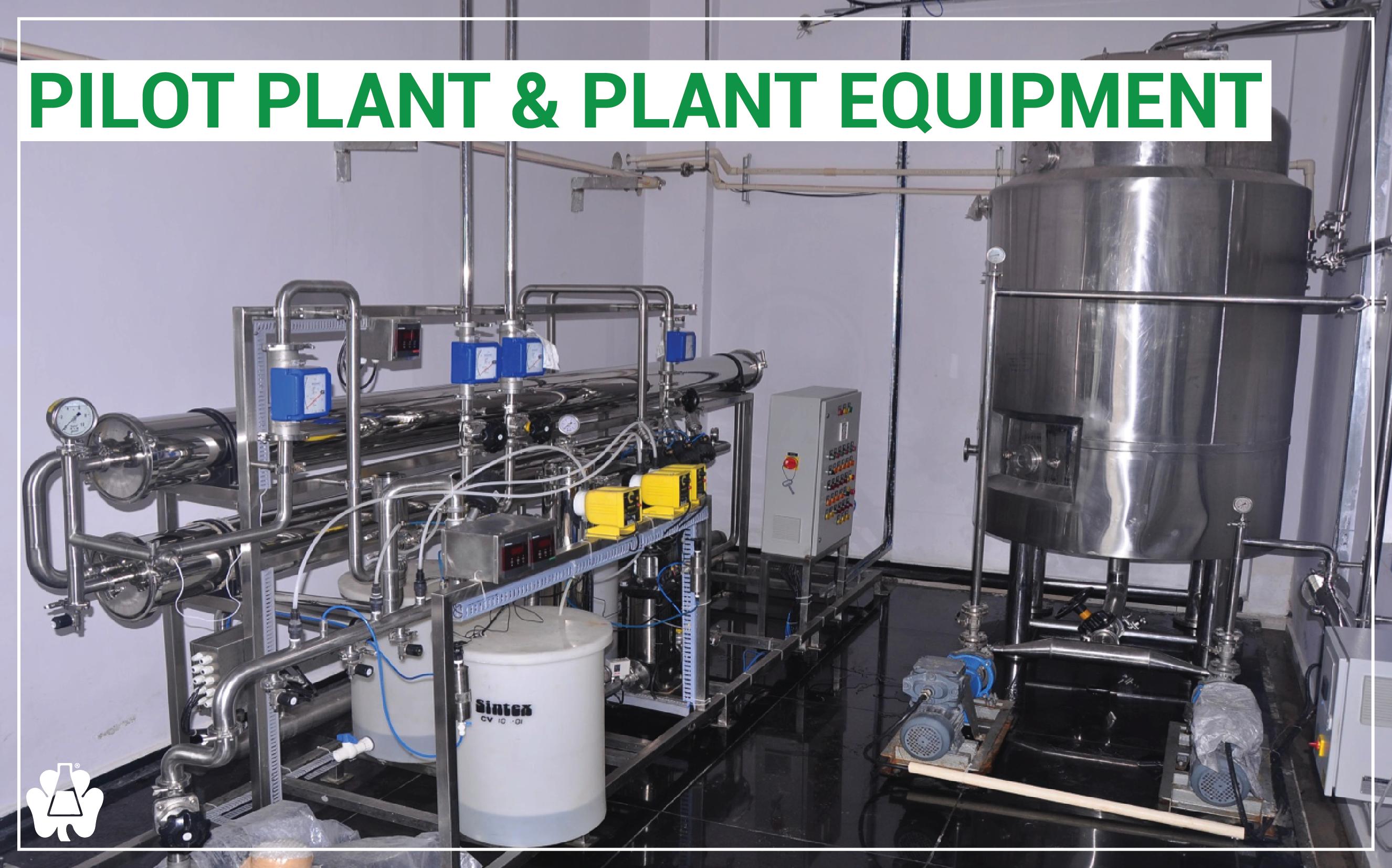 Pilot Plant - Plant Equipment-03